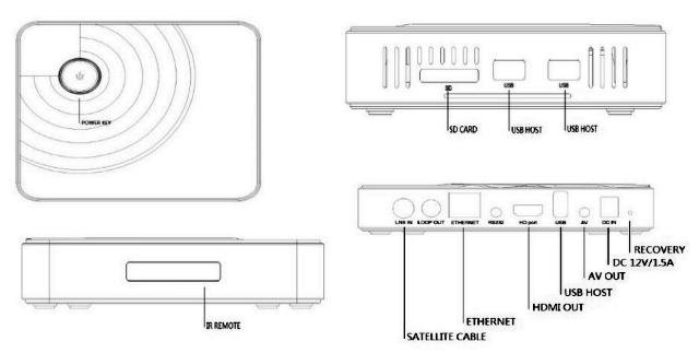TV-Box ROS1512-T2